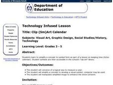 Clip (Sm)Art Calendar Lesson Plan