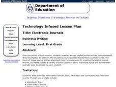 Electronic Journals Lesson Plan