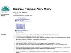 Reciprocal Teaching:  Aunty Misery Lesson Plan