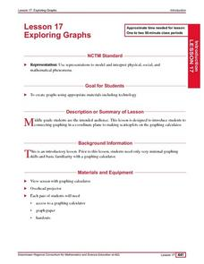 Exploring Graphs Lesson Plan