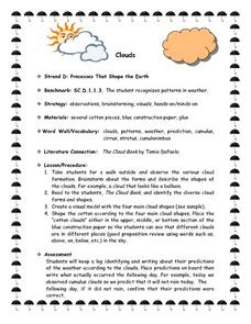 Science: The Shape of Clouds Lesson Plan