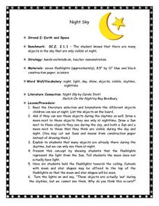 Night Sky Lesson Plan