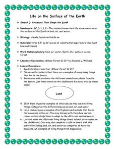 Life on the Surface of the Earth Lesson Plan