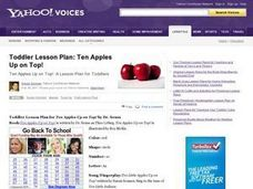 Ten Apples Up On Top Lesson Plan
