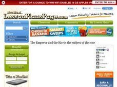 Shared Reading The Emperor and the Kite Lesson Plan