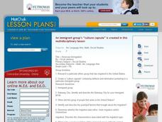 American Immigration Lesson Plan