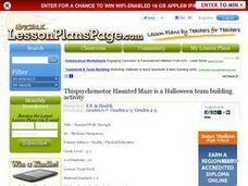 Haunted Walk Through Lesson Plan