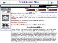 Fire Safety Skills Tag Lesson Plan