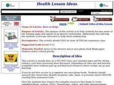 Here to Help! Lesson Plan