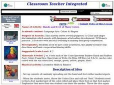 Hands and Feet of Many Colors Lesson Plan