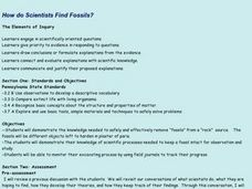 How Do Scientists Find Fossils? Lesson Plan