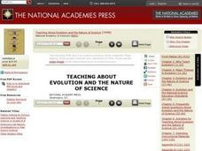 Inquiry and the Nature of Science Lesson Plan