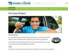 Car Loan Project Activities & Project