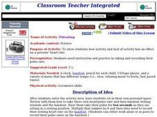 Pulsating Lesson Plan