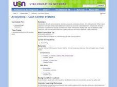 Cash Control Systems Lesson Plan