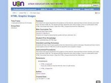 HTML Graphic Images Lesson Plan