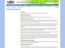 Health: Food Borne Illnesses Lesson Plan