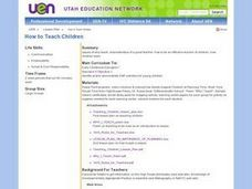 Social Studies: How to Teach Children Lesson Plan