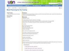 Meal Planning For the Family Lesson Plan