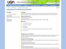 Jump Rope For Health and Literature Lesson Plan