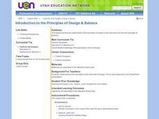 Introduction to the Principles of Design & Balance Lesson Plan