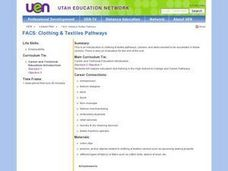 Clothing and Textiles Careers Lesson Plan