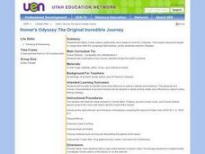 Homer's Odyssey:The Original Incredible Journey Lesson Plan
