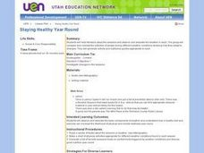 Staying Healthy Year Round Lesson Plan