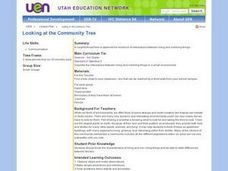 Looking at the Community Tree Lesson Plan