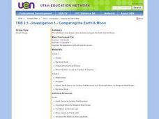 Comparing The Earth And Moon Lesson Plan