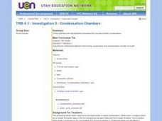 Investigation 3 - Condensation Chambers Lesson Plan