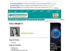 Cell Project Lesson Plan