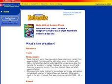 What¿¿¿s the Weather? Lesson Plan