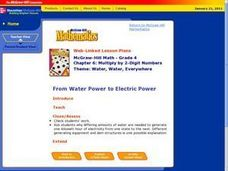 From Water Power to Electric Power Lesson Plan