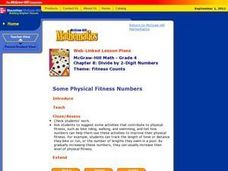 Some Physical Fitness Numbers Lesson Plan