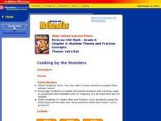 Number Theory and Fraction Concepts Lesson Plan