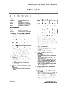 Orff Orchestra Lesson Plan