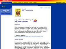 My Special Day Lesson Plan