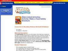Make a Food Safety Brochure Lesson Plan