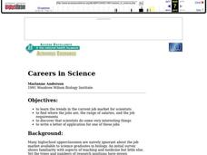 Careers in Science Lesson Plan