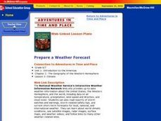 Prepare a Weather Forecast Lesson Plan