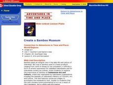 Create a Bamboo Museum Lesson Plan