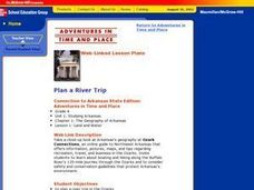 Plan a River Trip Lesson Plan