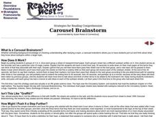 Carousel Brainstorm Lesson Plan