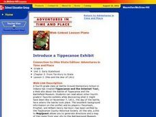 Introduce a Tippecanoe Exhibit Lesson Plan