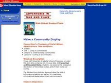 Make a Community Display Lesson Plan