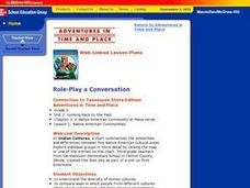 Role-Play a Conversation Lesson Plan