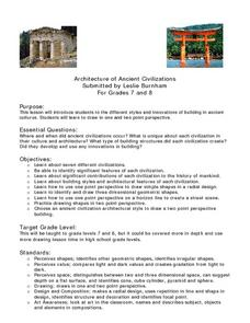 Architecture of Ancient Civilizations Lesson Plan