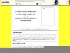 From Yosemite to Joshua Tree Lesson Plan