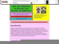 Influence of Beauty, The Beauty of Influence Lesson Plan